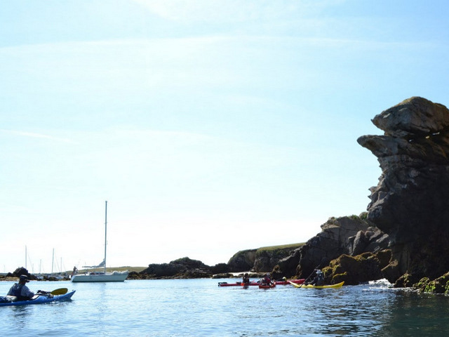 Sea Kayaking in Houat