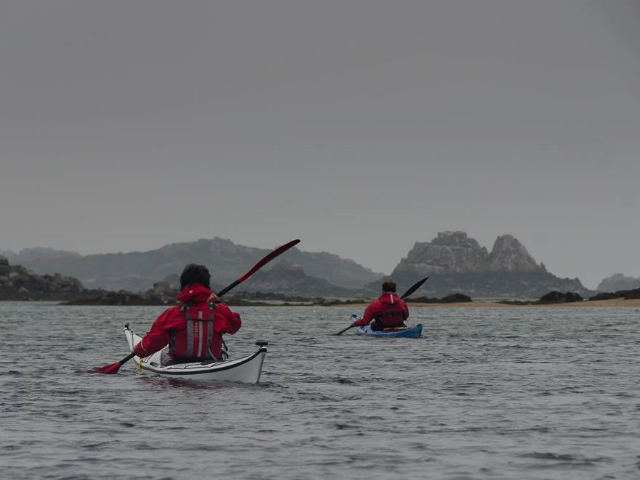 From the pink granite coast to Bréhat Archipelago