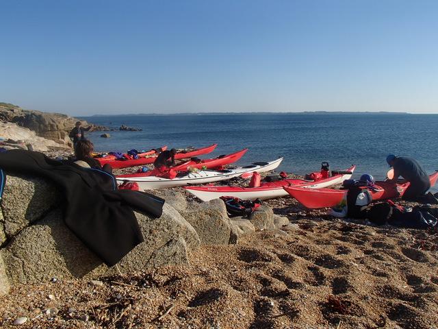 From Glénan to Groix island