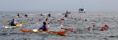 Groix Lomener – nage avec palmes -15 avril 2012