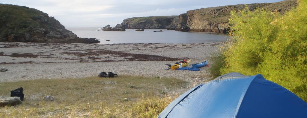 Vivez l'aventure  : 7 jours de randonnée autour de Belle-Île, Houat et Hoëdic