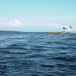 surf en kayak de mer