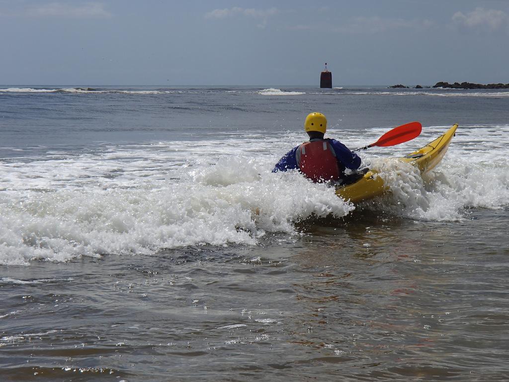 l'appui en poussée dans la vague