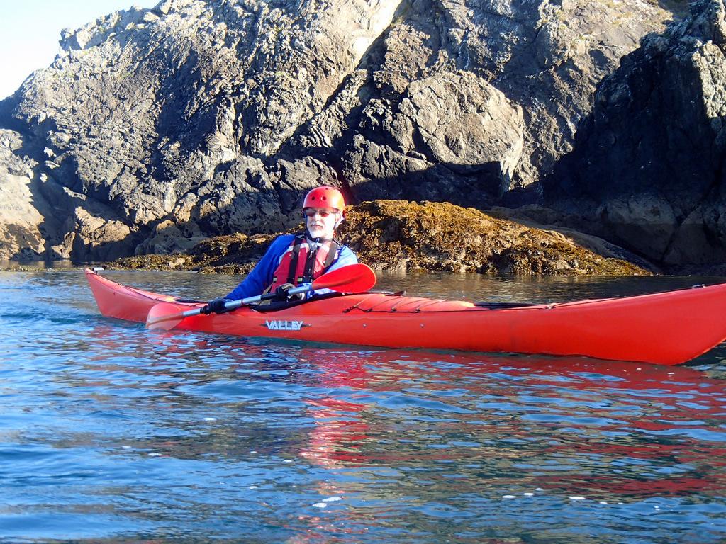 écart et gîte en kayak de mer