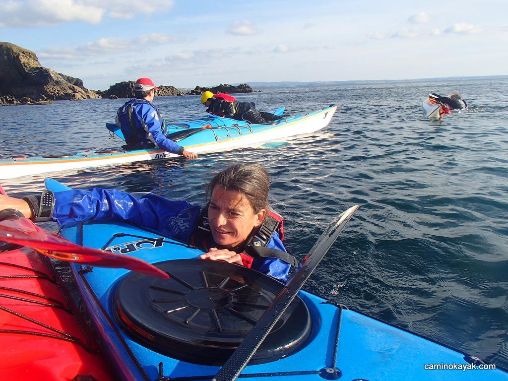 sécurité en kayak de mer