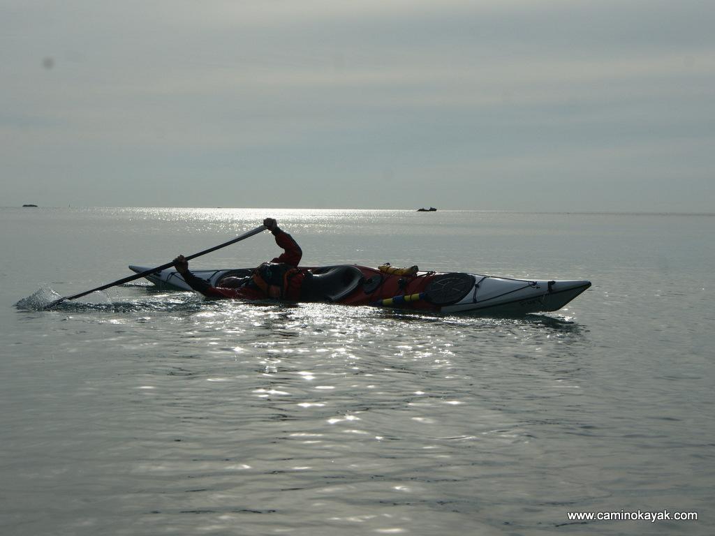 esquimautage en kayak de mer