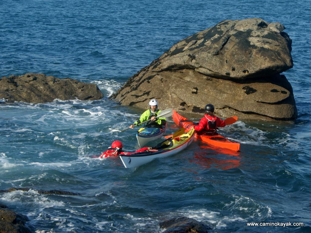 sécurité collective en kayak