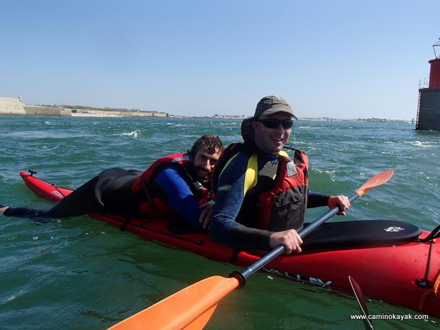La sécurité collective en kayak de mer