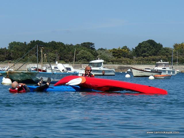 techniques de sécurité en kayak de mer
