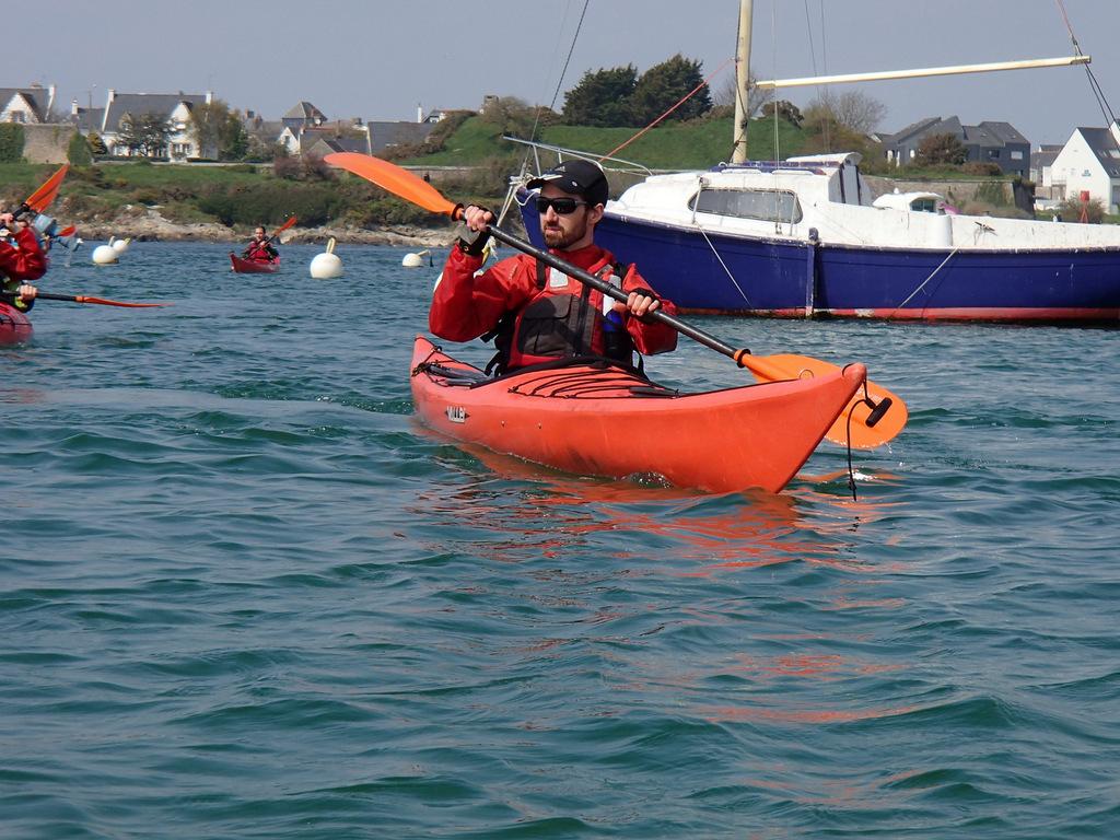 La petite mer de Gâvres en kayak