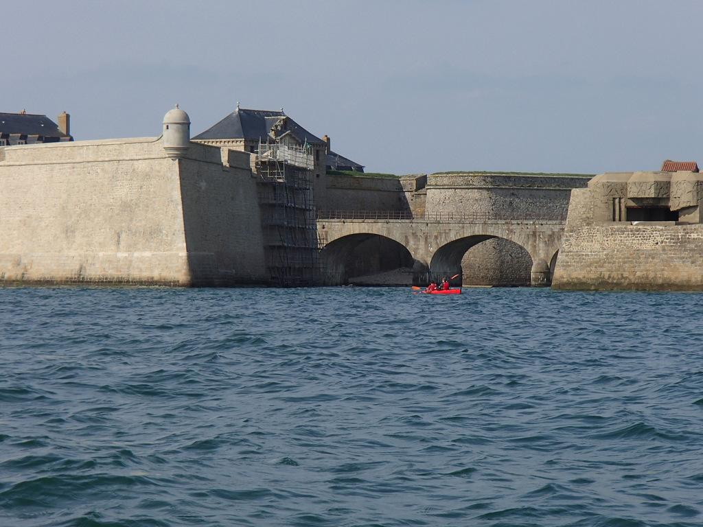Retour dans la rade de Lorient