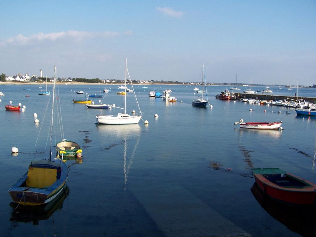 Le calme de la petite mer de Gâvres