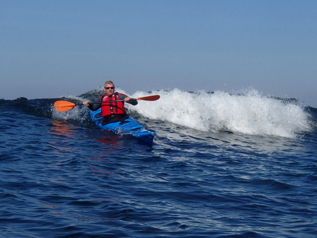 Week-end surf en kayak de mer