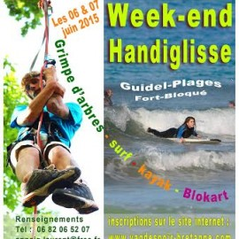WEEKEND HANDIGLISSE LES 6 ET 7 JUIN 2015