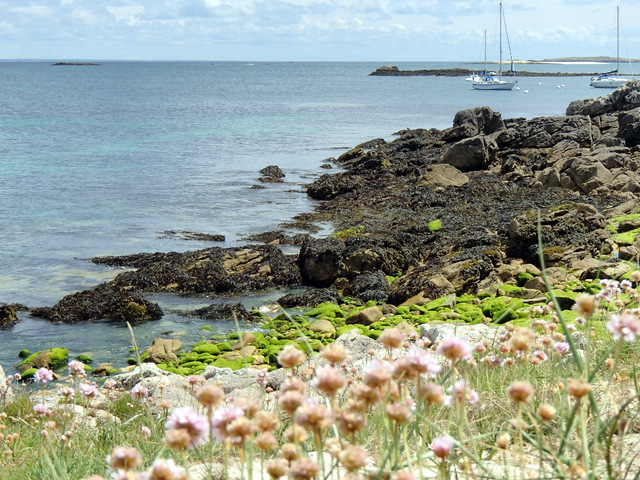 St Nicolas, nord de l'archipel des Glénan