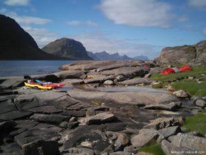 Les Lofoten en kayak de mer