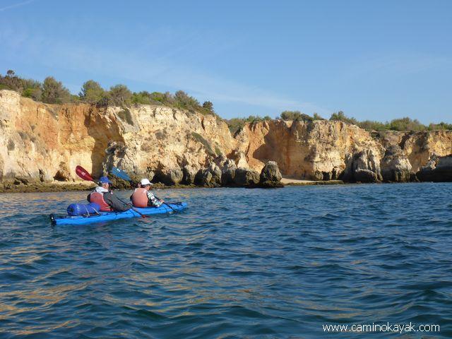 Voyage Algarve Portugal Kayak de mer